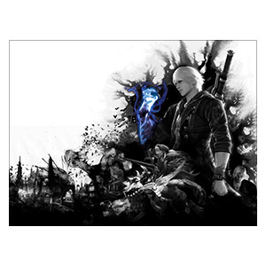 Devil May Cry. Размер: 40 х 30 см